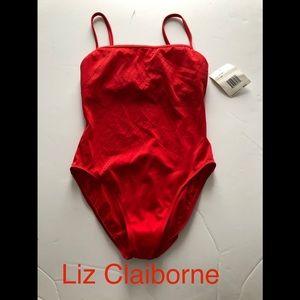 NWT Liz Claiborne bathing suit size 10